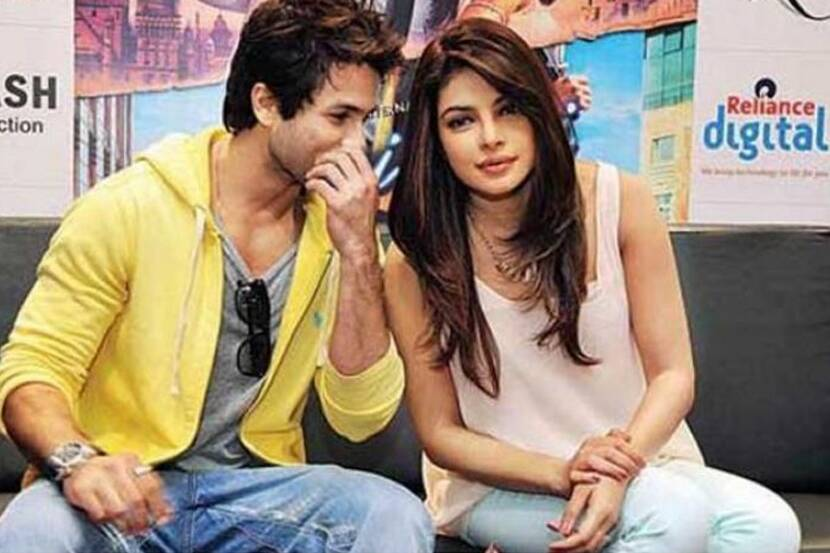 Image result for priyanka chopra shahid kapoor