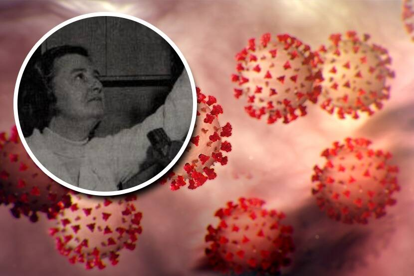 June Almeida The woman who discovered the first coronavirus dmp 82 ...