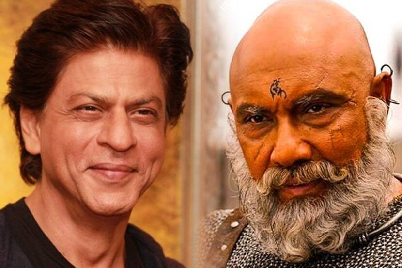 actor satyaraj aka katappa played shahrukh khans father in ...